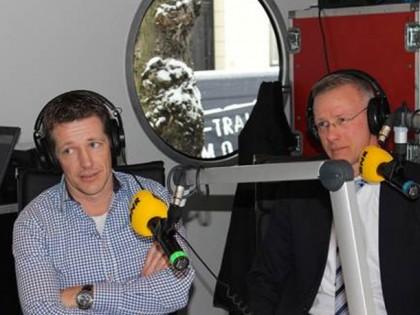 Interview op radio met BNR